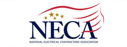 Logo for NECA (National Electrical Contractors Association)
