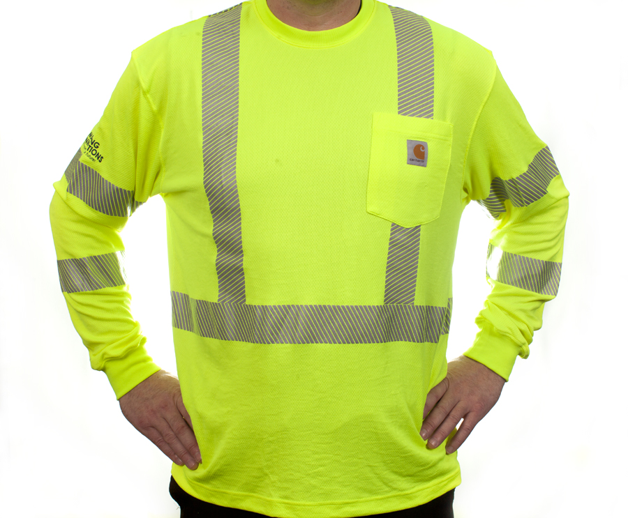 7190d7084531 Carhartt Reflective Work T-Shirt Long Sleeve | J. Ranck Electric