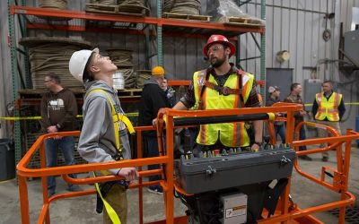 Students explore careers at Skilled Trades Night 2017