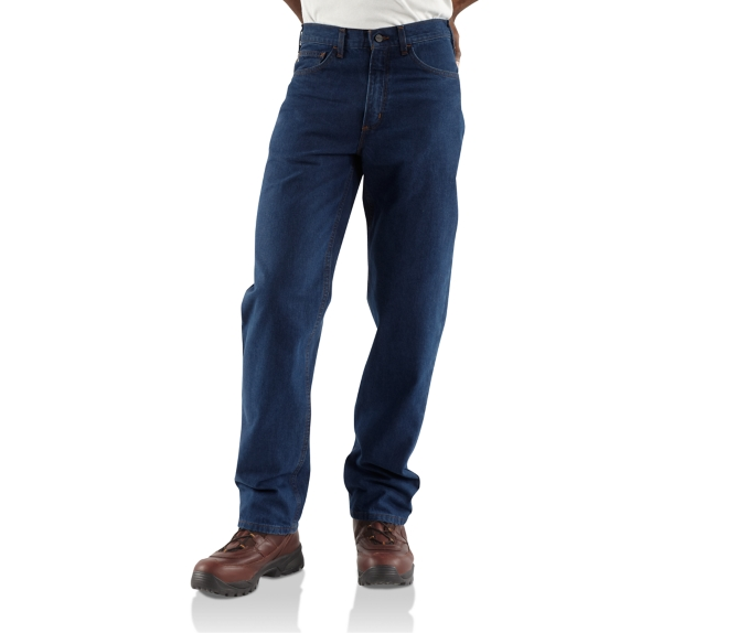 d1d304e3cd1 Carhartt FR Relaxed Fit Straight Leg 5-Pocket Jeans | J. Ranck Electric