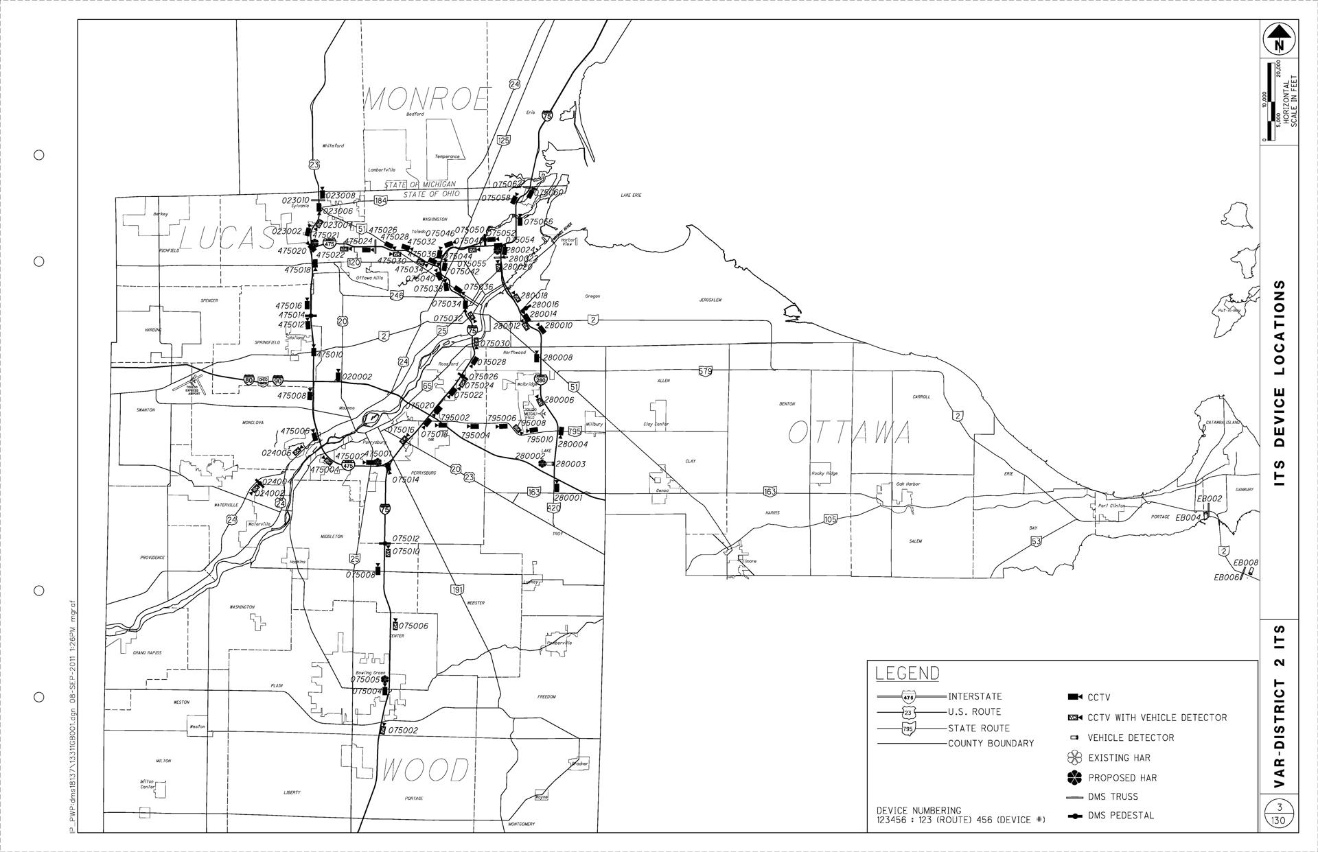 ODOT ITS CCTV Expansion – Toledo, OH   J. Ranck Electric