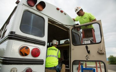 Retired School Bus Turned Solar-Powered Science Lab