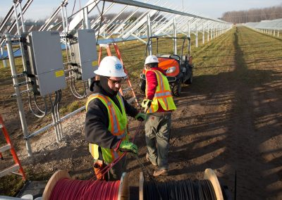 SpartanSolar #1 Community Array – Cadillac, MI