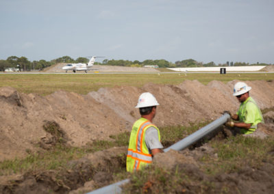 Constuction-at-Sarasota-Airport-Plane