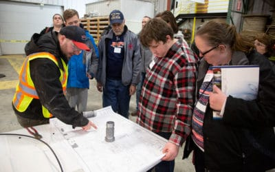 Students explore careers at Skilled Trades Night 2019